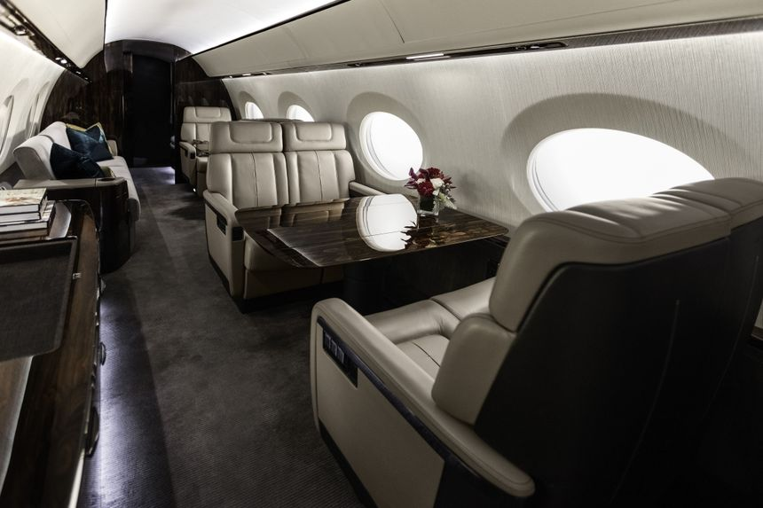 Gulfstream G600 Mock-Up 2015 3