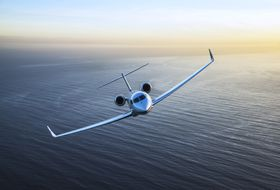 Gulfstream G650ER Aerial 1