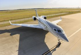 G500 Production Test Aircraft Ground 1