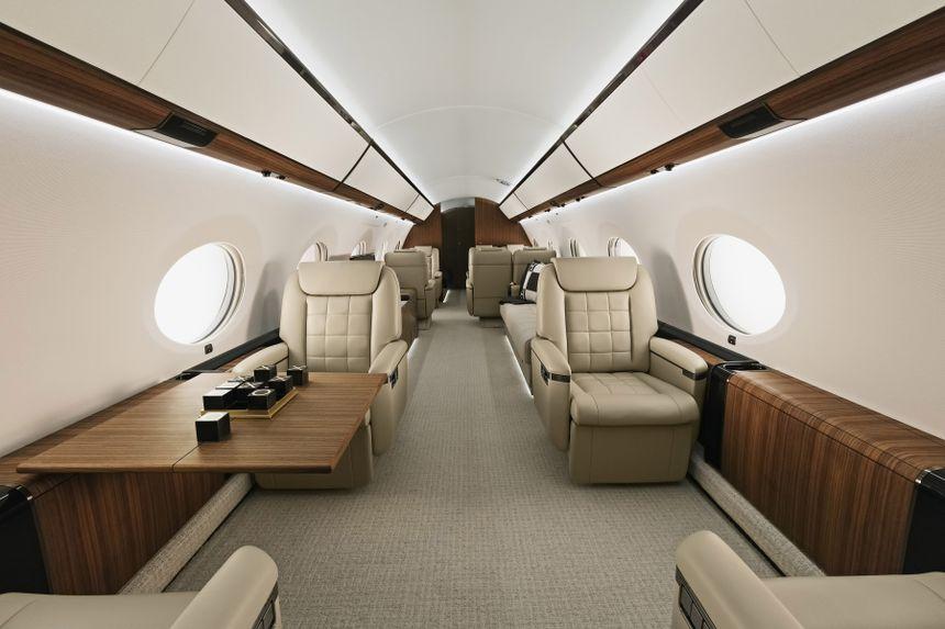 Gulfstream G650 Interior 1