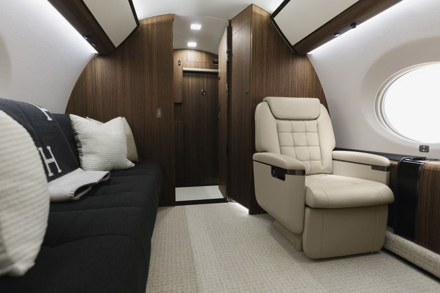 Gulfstream G650 Interior 6