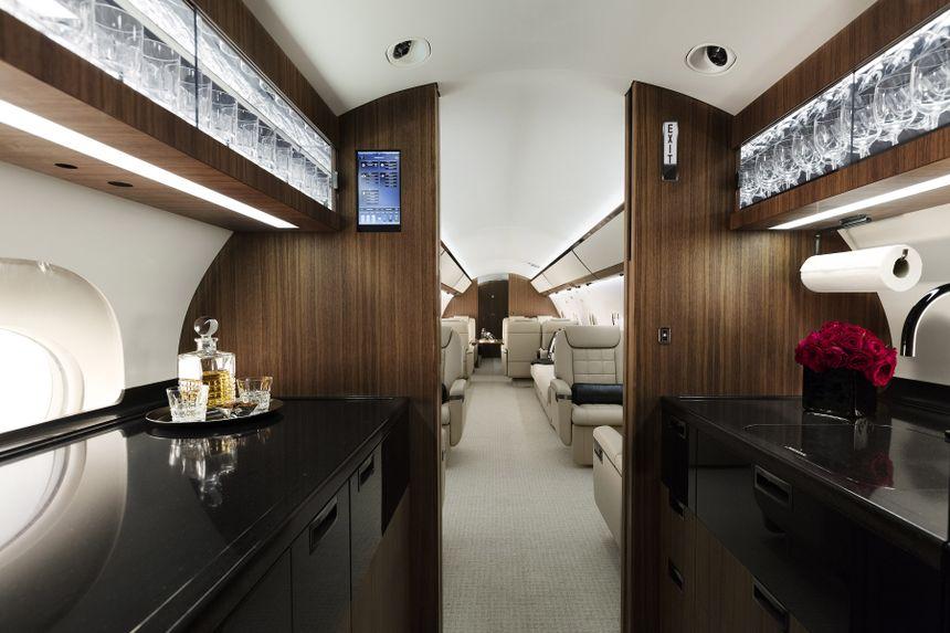 Gulfstream G650 Interior 15