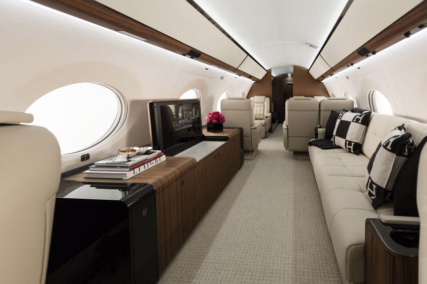 Gulfstream G650ER Interior 2