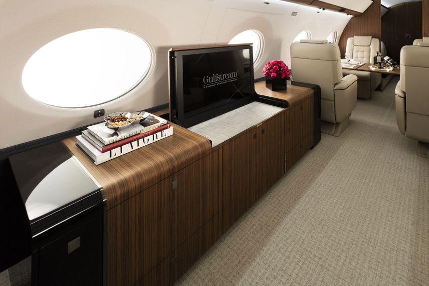 Gulfstream G650ER Interior 3