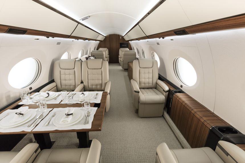 Gulfstream G650ER Interior 10