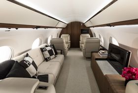 Gulfstream G650ER Interior 11