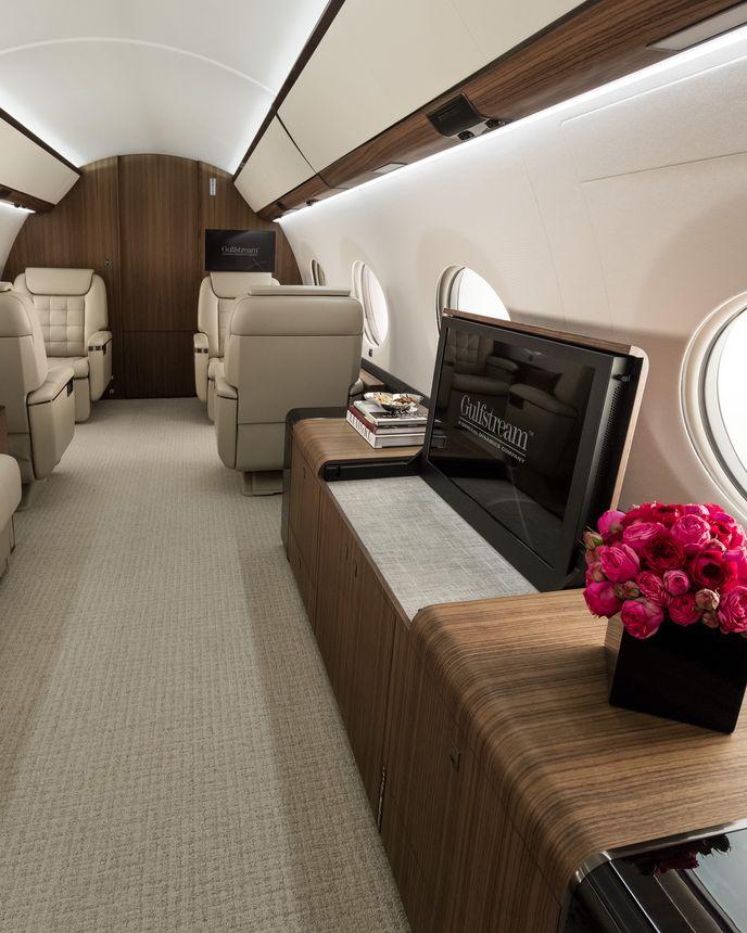 Gulfstream G650ER Interior 12