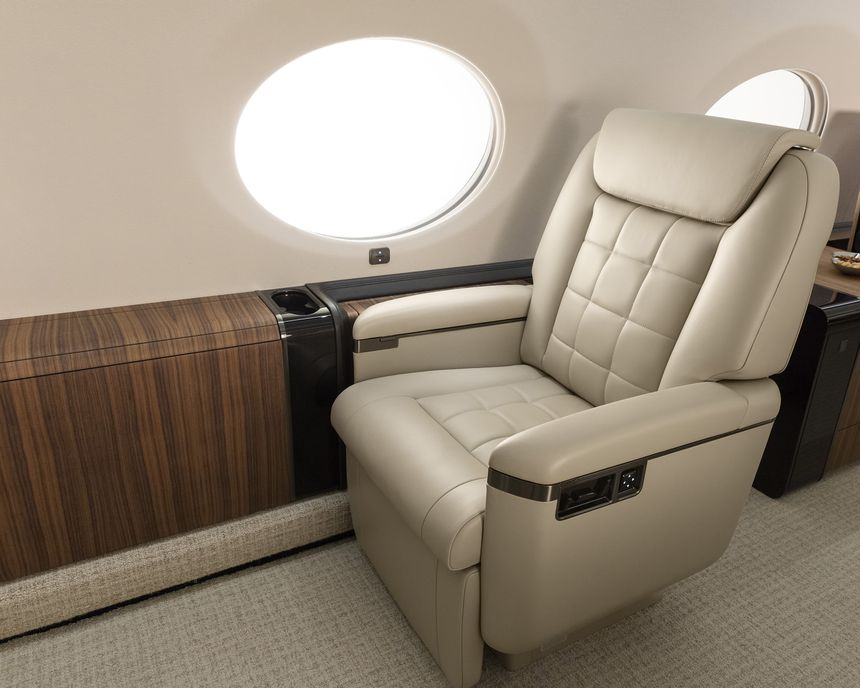 Gulfstream G650ER Interior 13