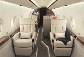 Gulfstream G280 Interior Media Loop