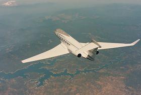 Gulfstream G650ER Aerial Media Loop