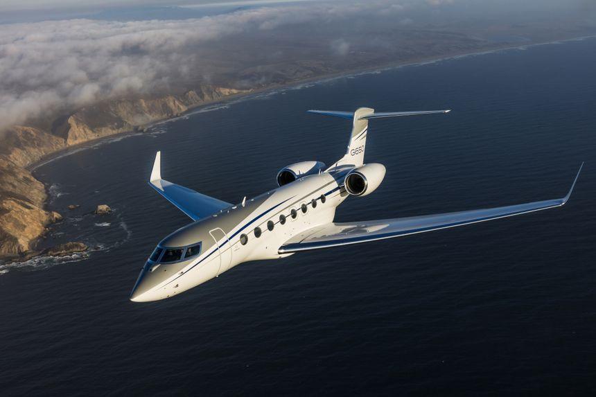 Gulfstream G650 Aerial 4