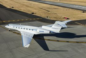 Gulfstream G650ER Ground 1