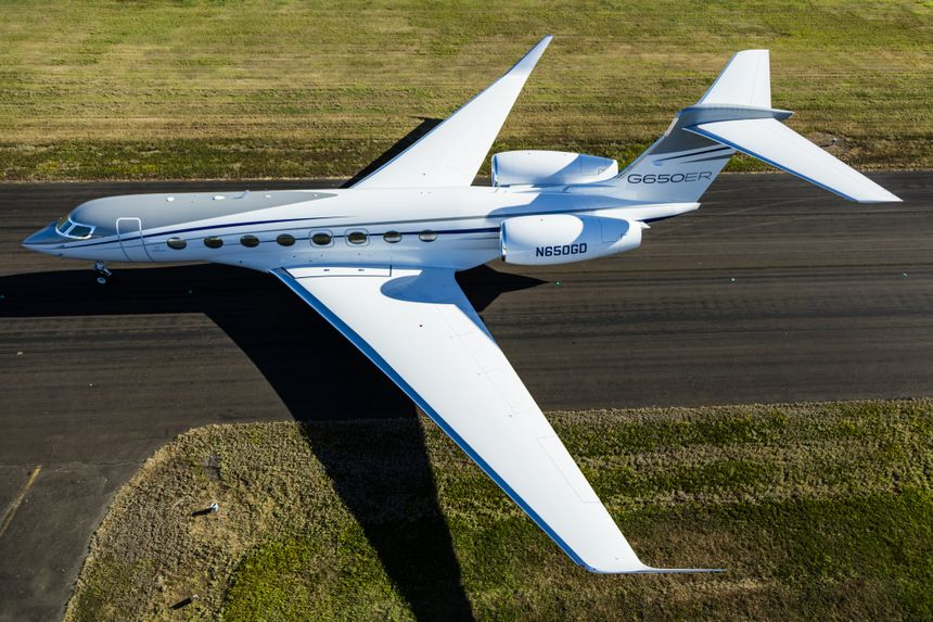 Gulfstream G650ER Ground 2