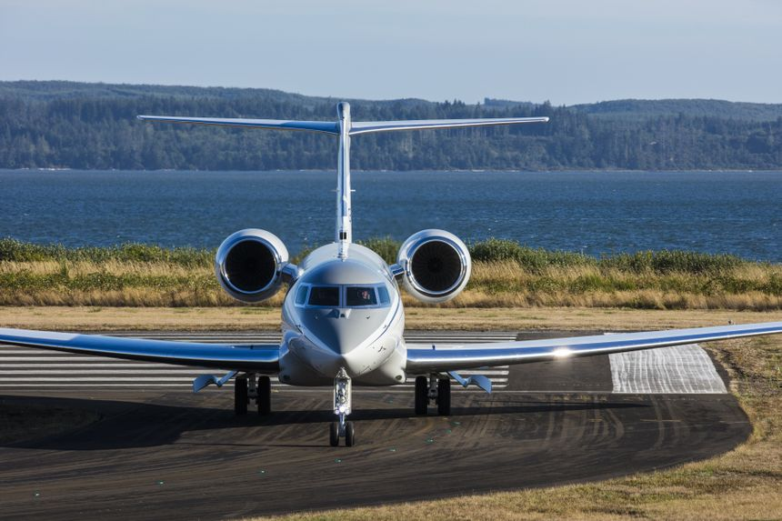 Gulfstream G650ER Ground 3