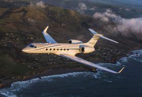 Gulfstream G550 Aerial 1