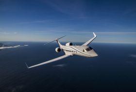 Gulfstream G550 Aerial 2