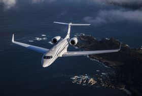 Gulfstream G550 Aerial 4