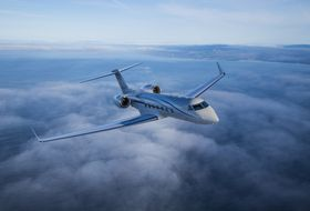 Gulfstream G550 Aerial 5