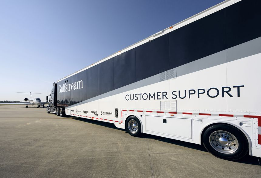 Gulfstream Customer Support FAST Truck 1