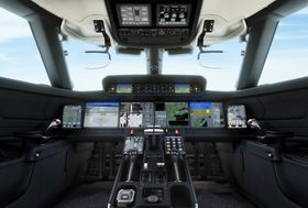 G700 Flight Deck