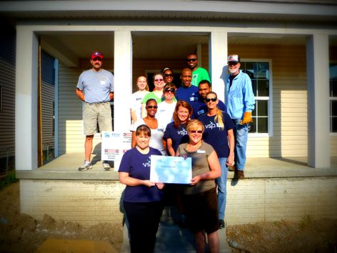 VSP Vision Care Donation to Habitat for Humanity