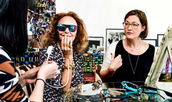 DVF UNVEILS LIMITED EDITION GOOGLE GLASS COLLECTION