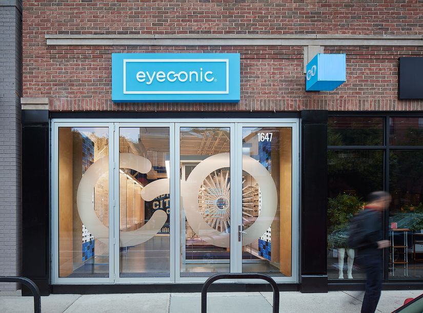 Eyeconic Chicago Bucktown Store Front