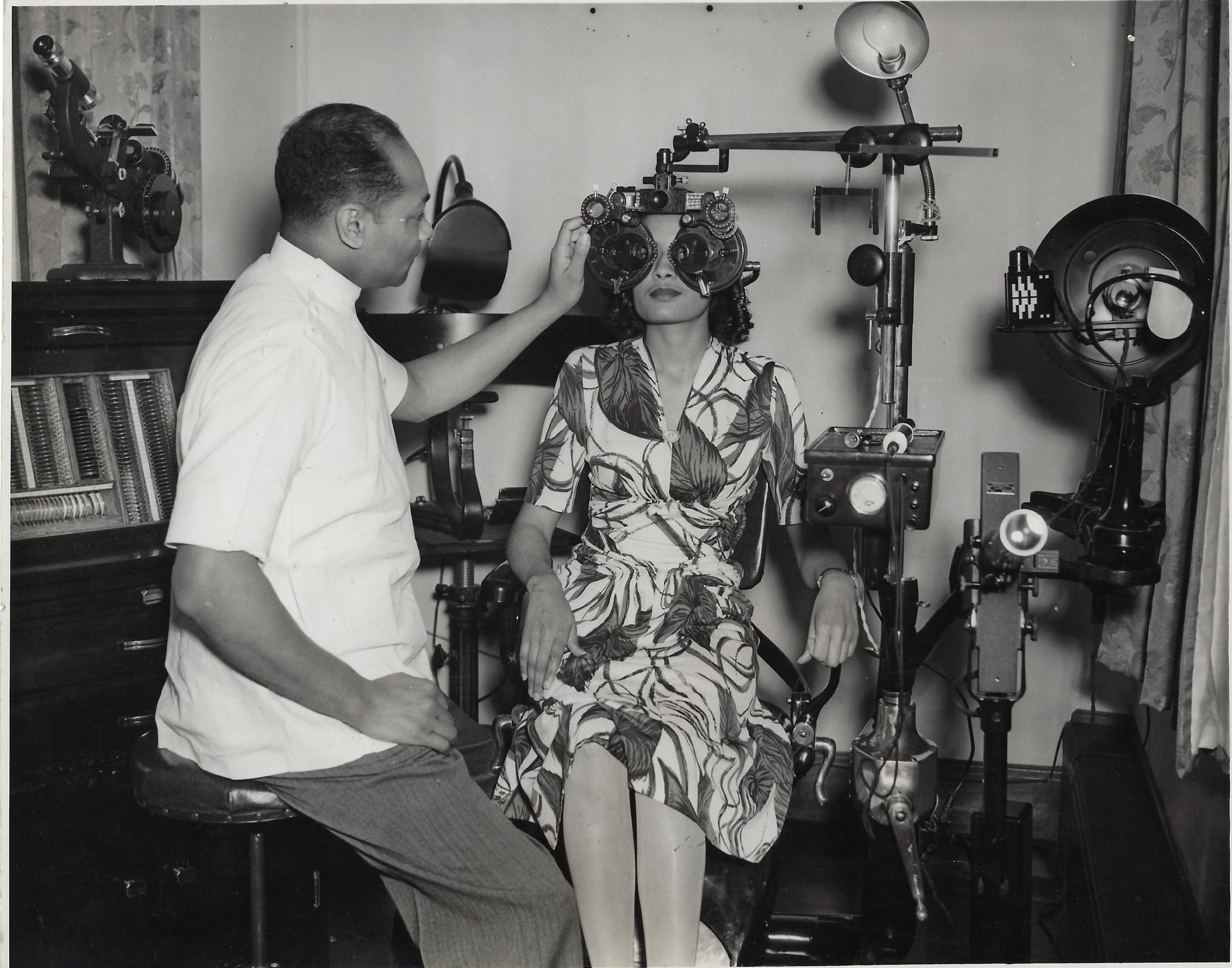 Patient Exam 1944