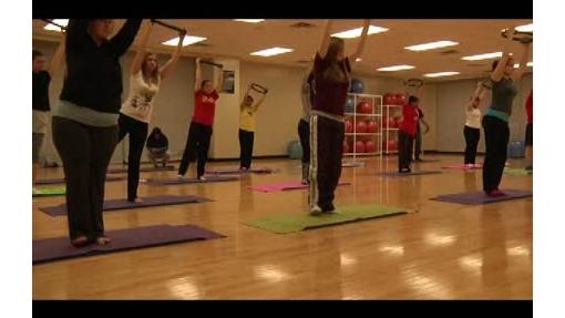Yoga class WMV