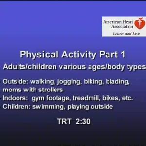 Physical Activity pt 1 QT
