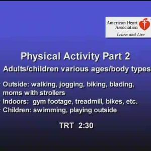 Physical Activity pt 2 QT