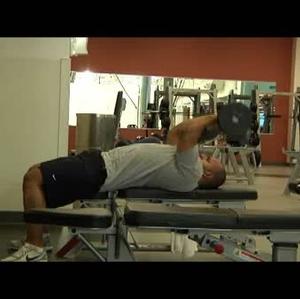 Resistence training at gym WMV