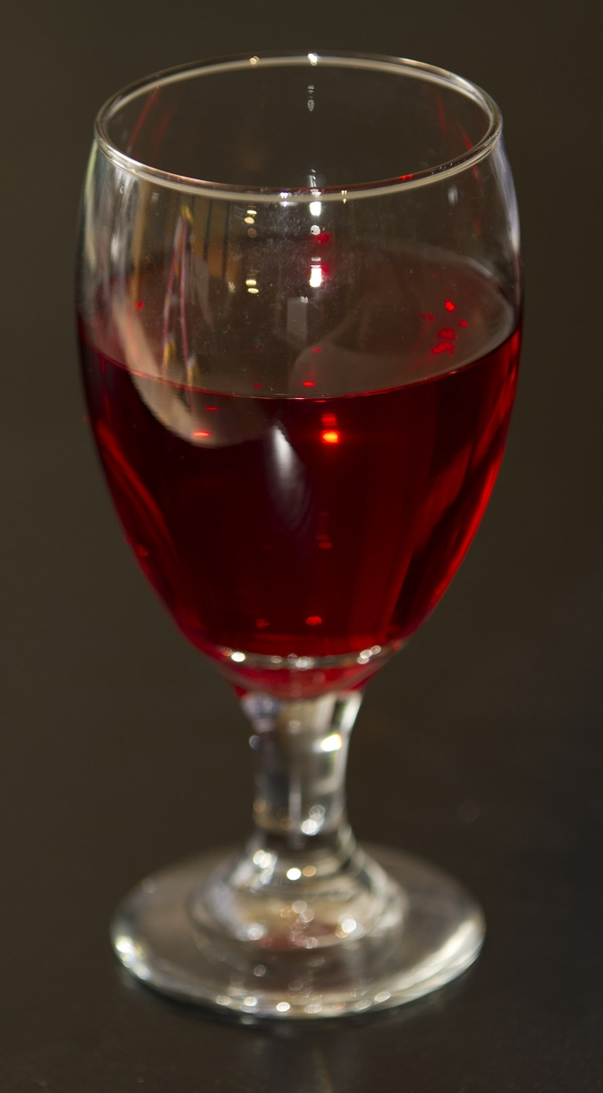 Juice - Cranberry in Glass