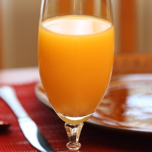 Juice - OJ Glass with place setting