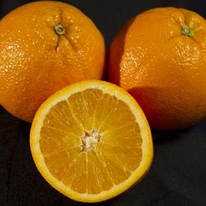 Oranges - whole with half
