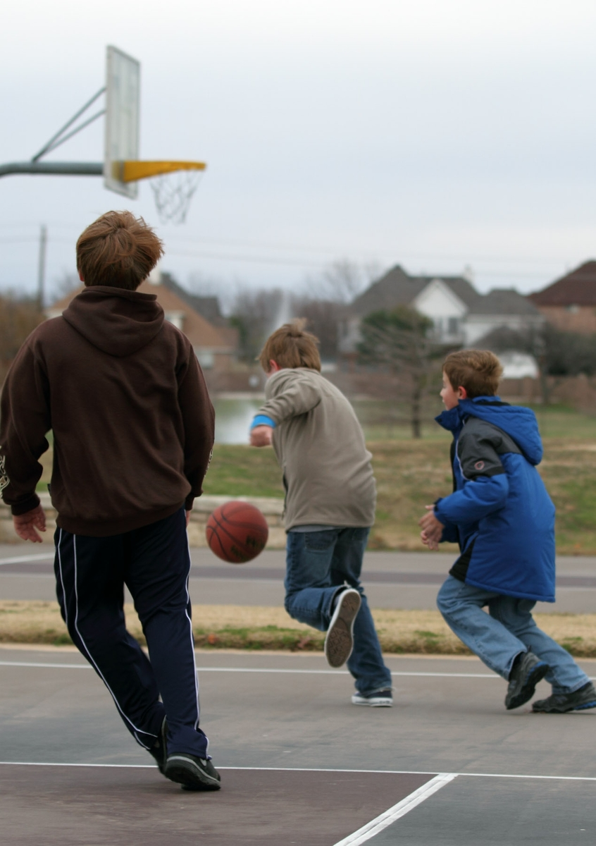 Basketball - outdoor game