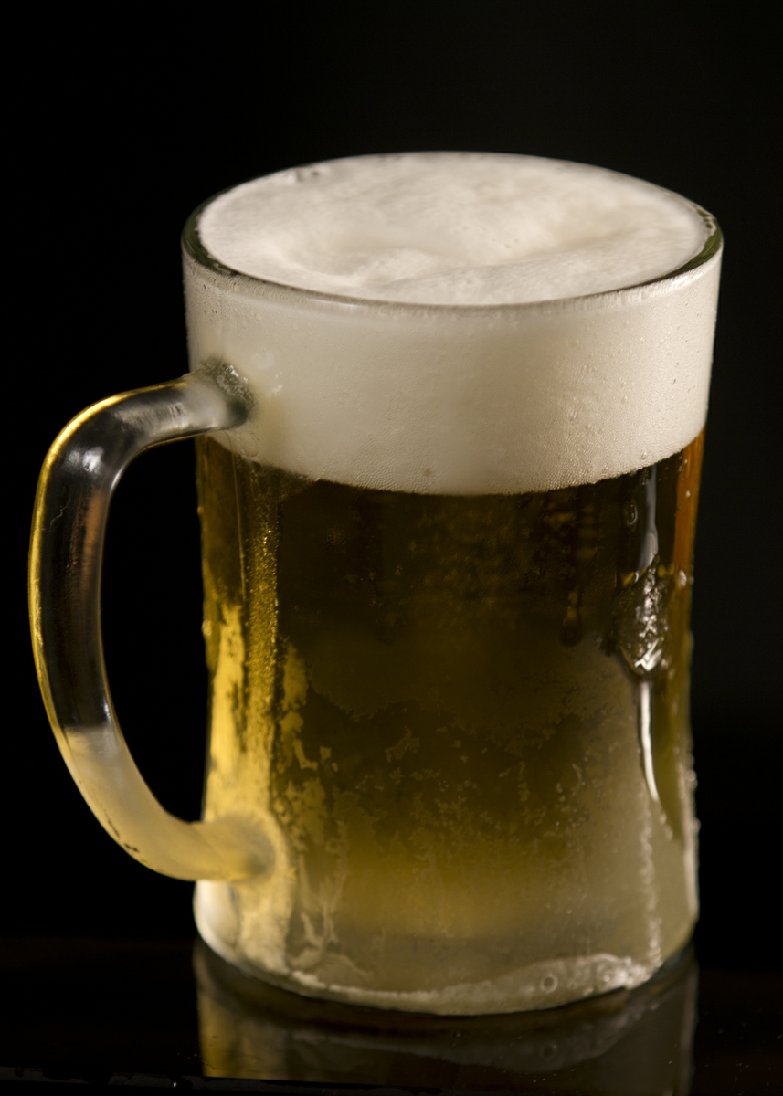 Beer in a Frosty Mug