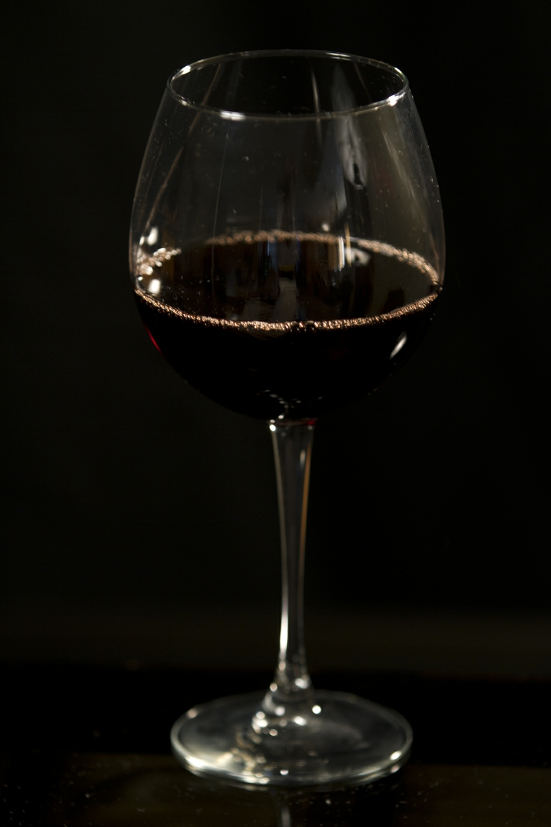 Wine -Red in Glass