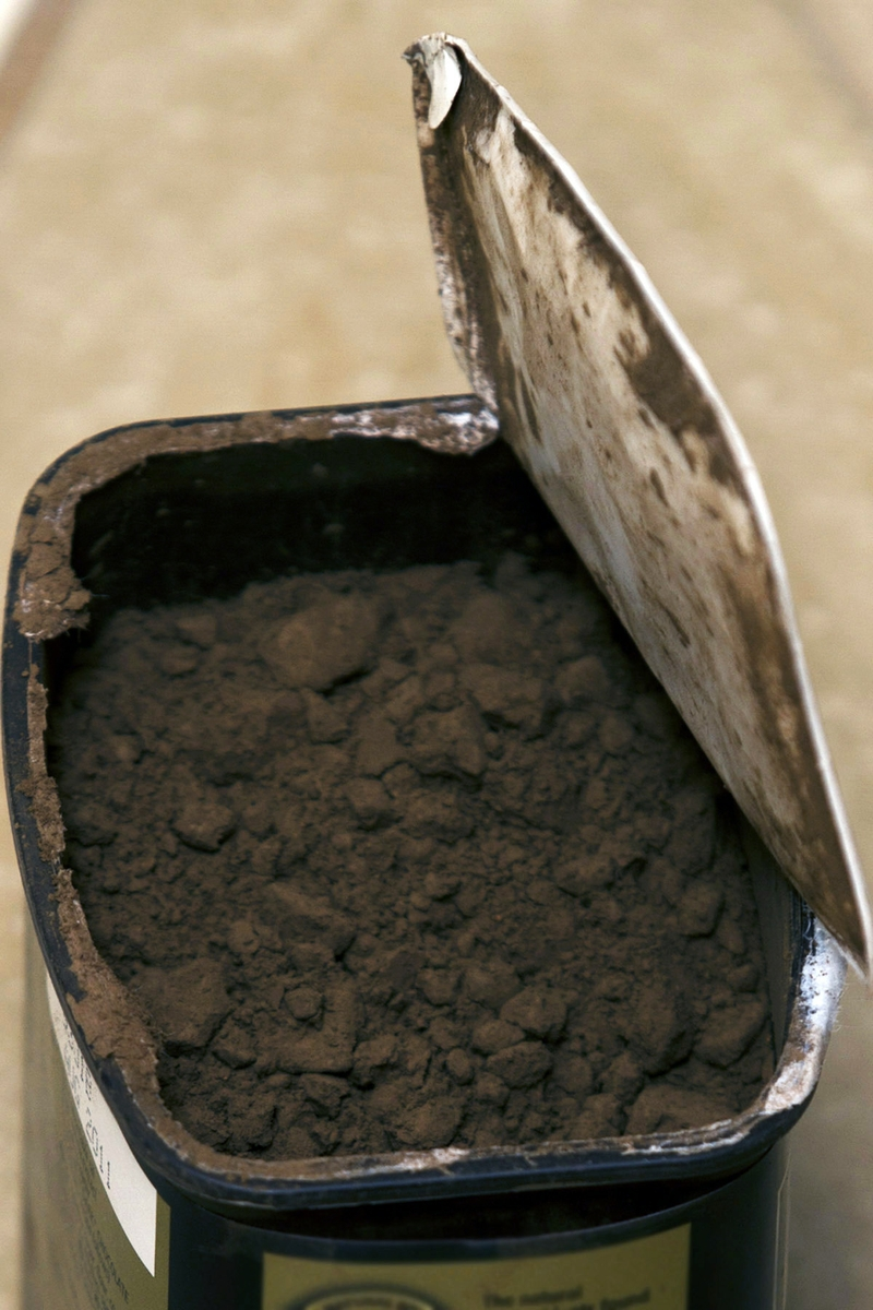 Cocoa Powder close up