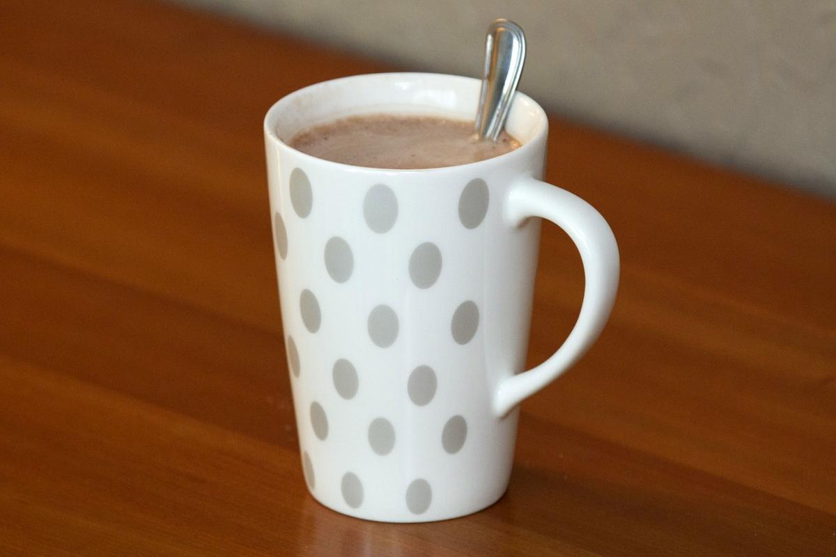 Hot Chocolate in mug horizontal