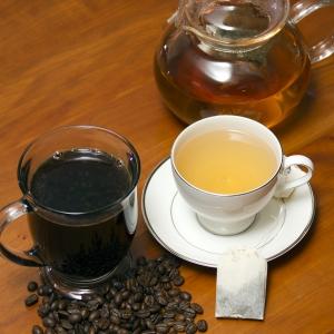 Coffee and Green Tea