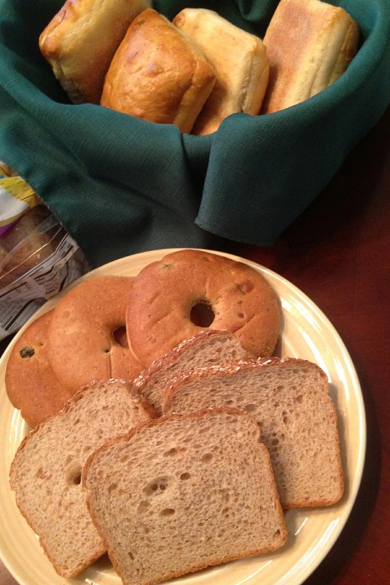 Bread, Bagels, Rolls