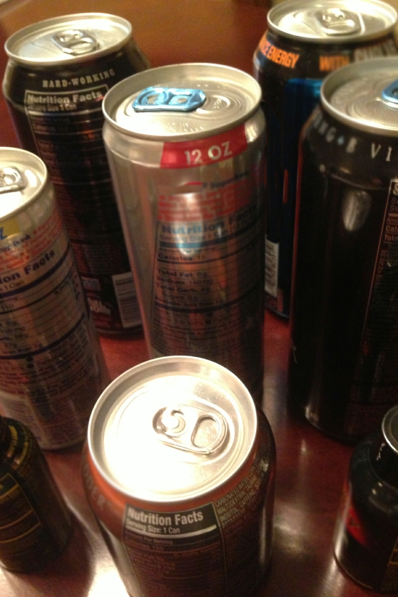 Energy Drinks variety