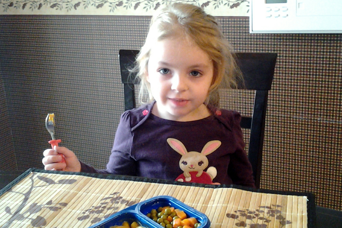 Toddler girl age 2