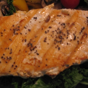 fish - grilled salmon