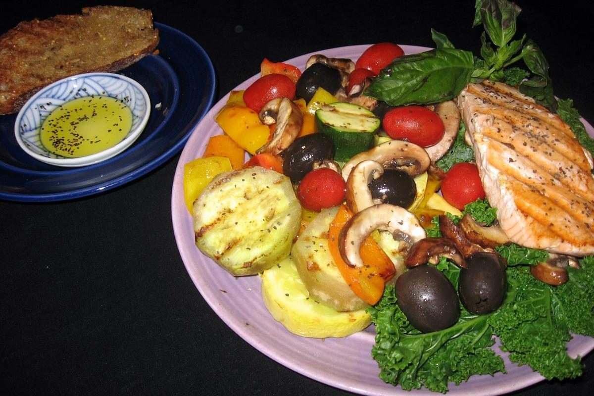 Mediterranean Diet dinner - 2