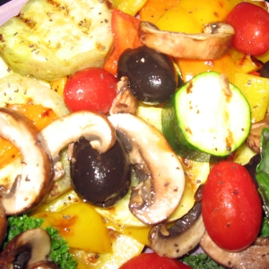 Mediterranean Diet grilled vegetables