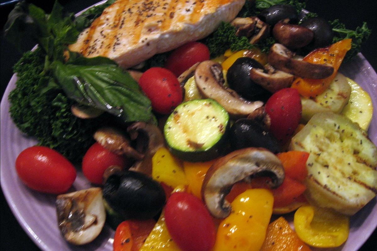 Photo | Mediterranean Diet meal | American Heart Association