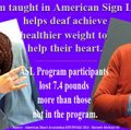 Program taught in American Sign Language helps deaf achieve healthier weight