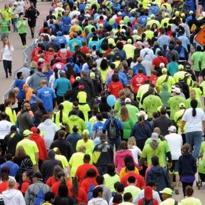 Heart Walk crowds